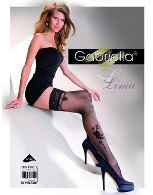 http://www.lamai.pl/15-poczochy Pończochy z różą Lima 248 Gabriella samonośne - Sklep Lamai.pl