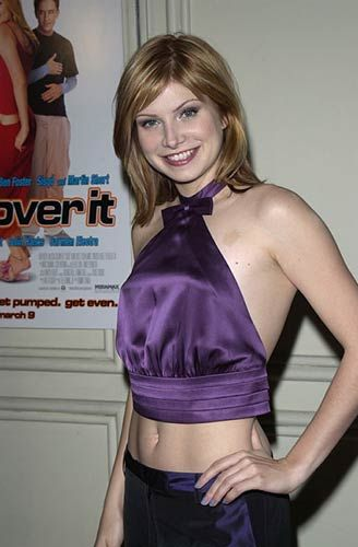 Love the strawberry blonde in this pic of singer Vitamin C.
