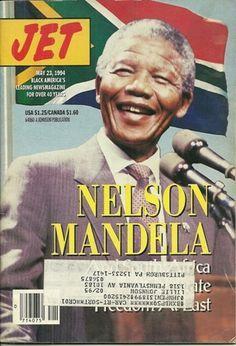 Ebony Magazine Cover 1961 | Nelson Mandela