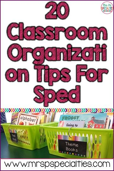 20 Concepts For Holding Organized In Particular Schooling