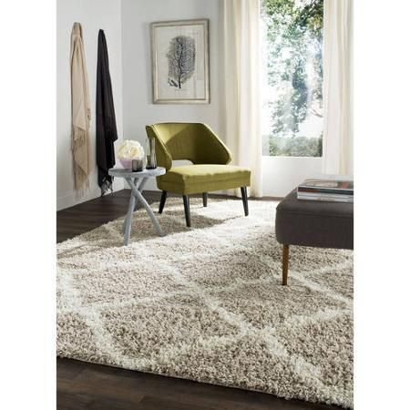 Safavieh Daley 8' x 10' Power-Loomed Shag Area Rug - Walmart.com I'm Telling you, keep an eye on walmart.com. They will surprise you every now and then with great things at great prices! I'm talking items for home/home decor. I have ordered furniture and other items and have never been disappointed.
