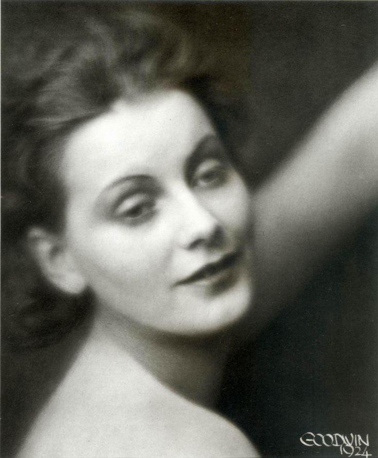 Greta Garbo taken in 1924, the year she made her 1st movie in The ...