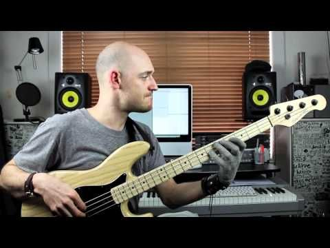 Using Simple Shapes to Create Bass Lines - Lesson with Scott Devine (L#70) - YouTube