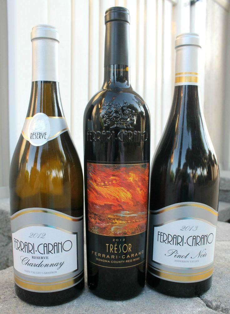 A Trio of Vinos. Ferrari-Carano Wines | In Mama Maggie's Kitchen