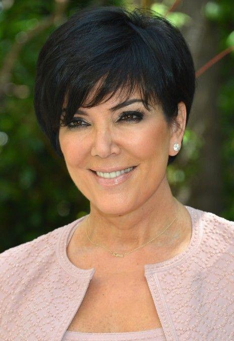 Short Hair Styles For Women Over 50 | 2013 Short Haircut for Women Over 50: Kris Jenner Short Black Haircut ...
