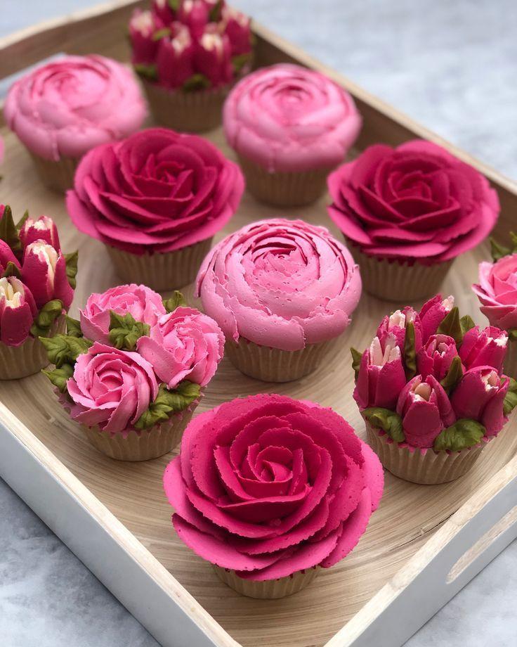 How to pipe buttercream roses – #buttercream #pipe #roses
