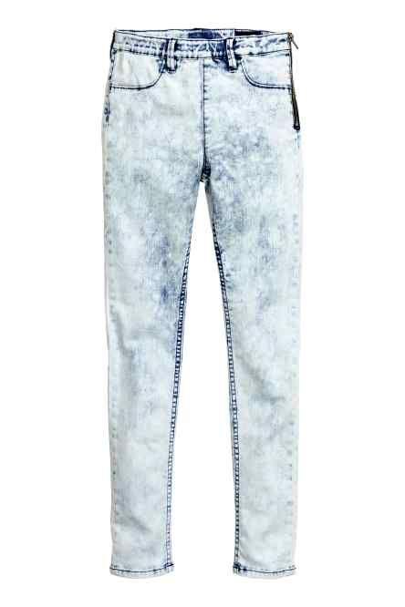 Dżinsowe legginsy