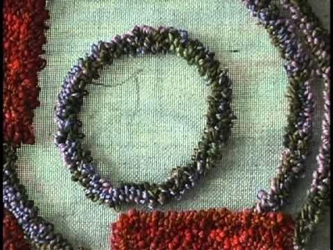 Meg Little creates beautiful art wool rugs.  Find her work at www.artfulhome.com