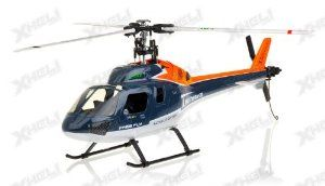 New RC Twinstar 3G 6-Channel Collective Pitch 3 Bladed Ready to Fly Helicopter . $299.00