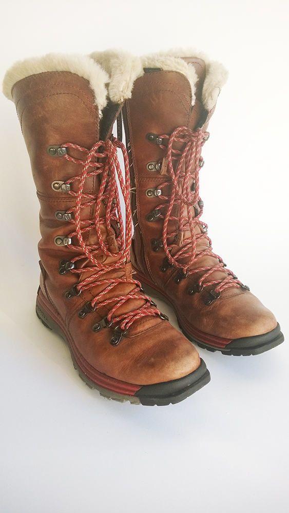 Boots en cuir à lacets bottes vintages bottes dhiver