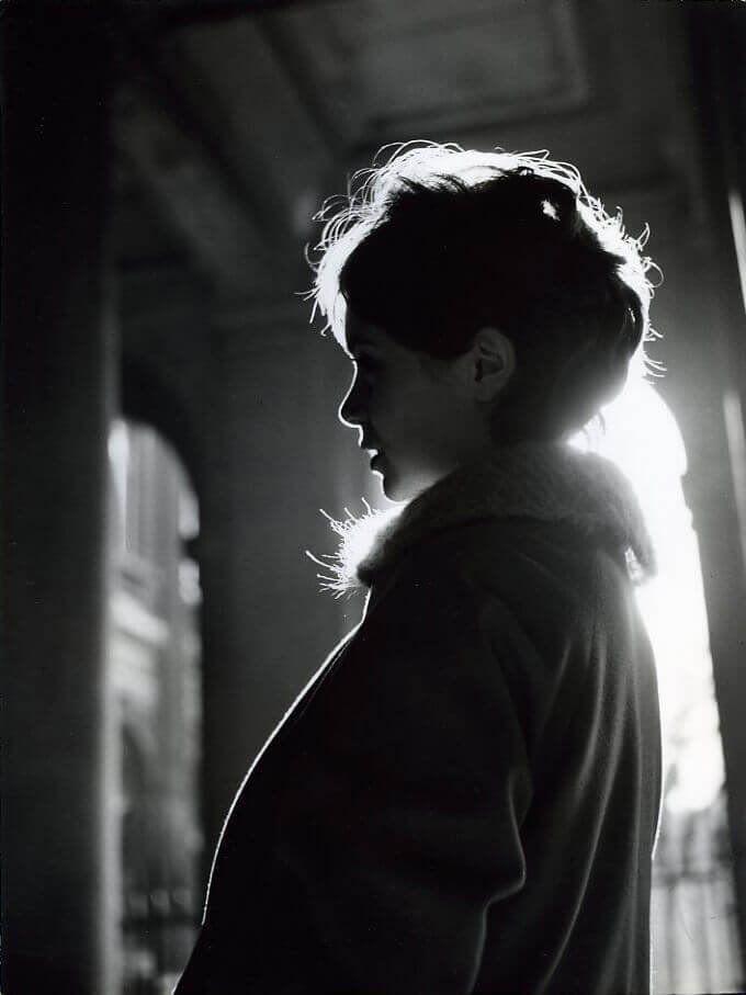 Robert Doisneau ~ Annie Fargue (1958)