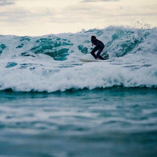Winter surfing in Bicheno on the East Coast via http://buff.ly/1L2ZI0Y?utm_content=buffer1b2bd&utm_medium=social&utm_source=pinterest.com&utm_campaign=buffer #surfing #tasmania