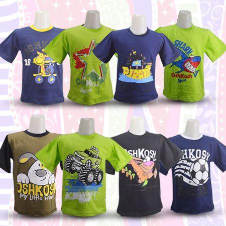 OSHKOSH B GOSH Tshirt Sablon (CMT),  baju sisa export, baju export murah, sisa export, baju branded, pusat baju murah, pakaian, baju, grosir baju murah, grosir, stocklot, obral sisa export, Fashion, Mode, Model, cosmetic, Kosmetik, Style, Gaya, Busana, Pakaian, Kid, Kids, Anak, Children, Distro