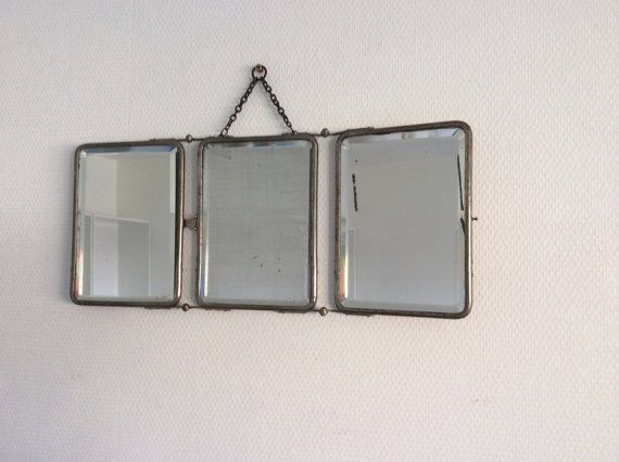 60 best miroirs vintage images on pinterest mirror for Miroir barbier