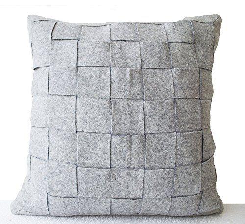 Amore Weave Throw Handmade Pillowcase - Gray (16 x 16) Am... http://www.amazon.com/dp/B00NGR22JG/ref=cm_sw_r_pi_dp_JZdpxb0W4AZXT