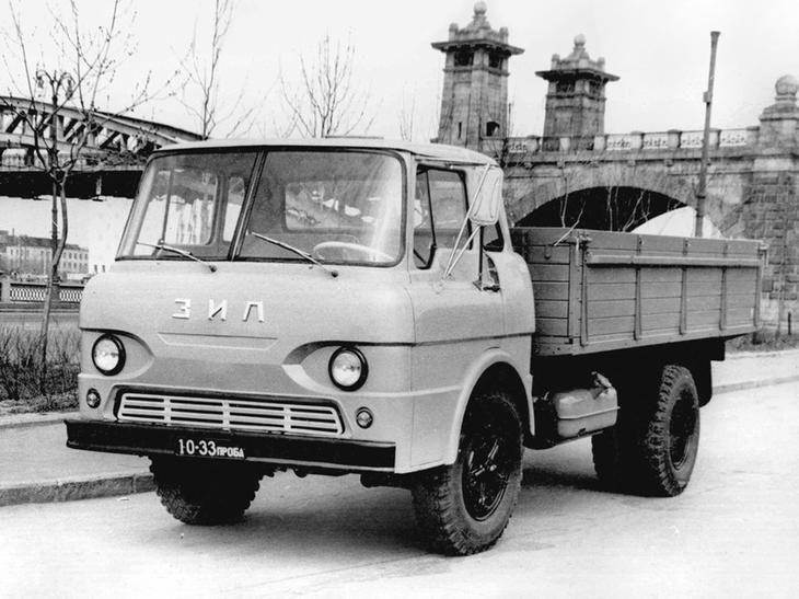 51. ЗИЛ 159 - конкурент ГАЗ 53