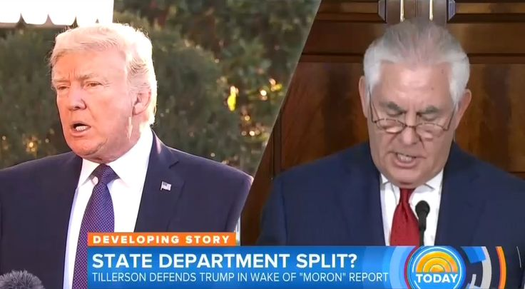 """On Thursday, NBC's Today seemed to delight in causing """"turmoil"""" within the Trump administration after reporting on anonymous gossip about Secretary of State Rex Tillerson allegedly calling the President a """"moron."""" Co-host Savannah Guthrie opened the show by hyping: """"Secretary of State Rex Tillerson takes on an NBC News report that he referred to the President as a moron. But, doesn't deny it....the latest on the State Department in turmoil."""""""