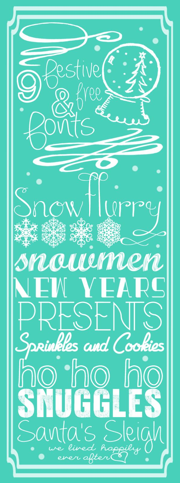 9 Festive and Free Fonts for the Holidays