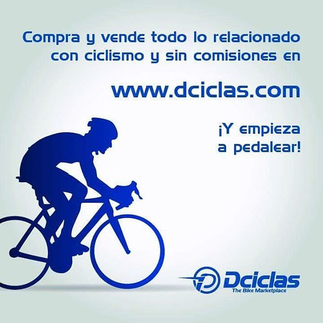 zpr www.dciclas.com es el más completo mercado online en donde puedes encontrar tiendas especializadas en ciclismo y además comprar y vender bicicletas y artículos de forma fácil y sin comisión. ¡Únete a nuestra comunidad y empieza a rodar! #dciclas #comprayvende #ciclismo #bmx #ruta #pista #mtb #bici #bicicleta #bike #adventure #cyclinglife #bikelife #roadbike #nolimits #pedaleo #soyfelizenlaruta #accesorios #ecommerce