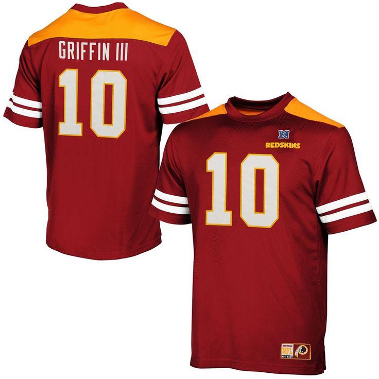 Robert Griffin III Washington Redskins Majestic Hashmark II T-Shirt -