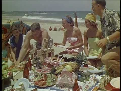 Christmas In Australia ~ a Screen Australia presentation from the late 1950s. The clothes may have changed but not much else!