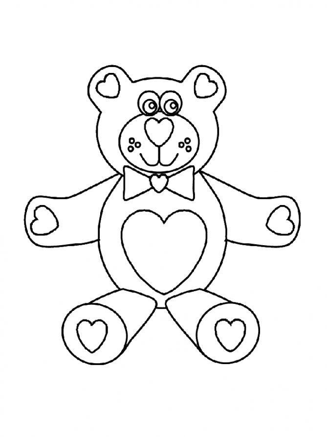 Желейный медведь валера раскраска онлайн