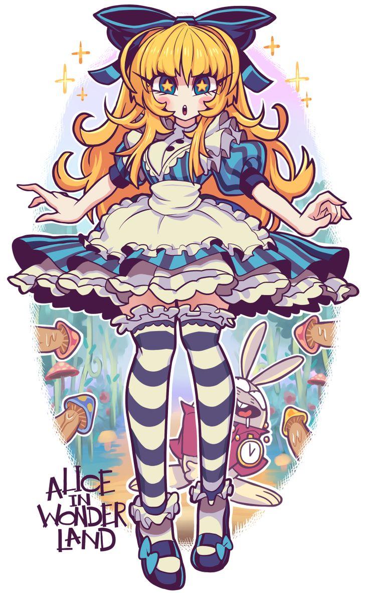 Alice in Wonderland by Gashi-Gashi