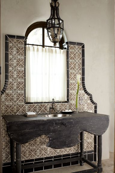 Reuse vintage and antique tiles