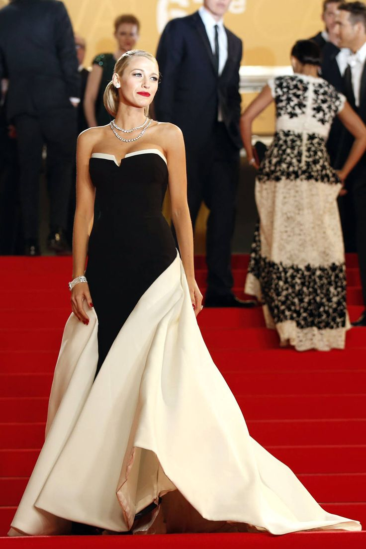 Cannes Fashion - Red Carpet Dresses at Cannes 2014 - Harper's BAZAAR | Blake LIvely in Gucci Premiere