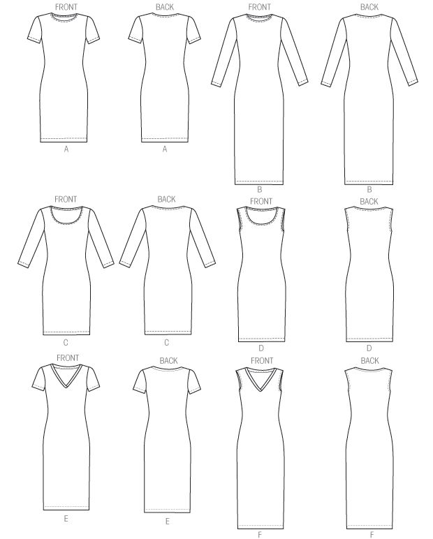 M6886 | Misses' Dresses | New Sewing Patterns | McCall's Patterns