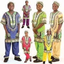 Traditional Children's African Clothing 1