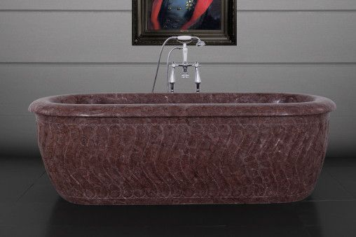 Tivoli Chocolate Marble Bath