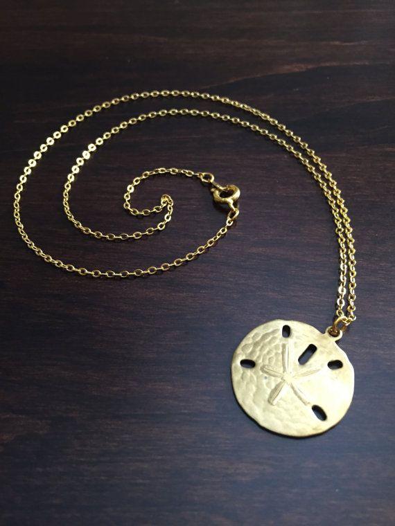 sand dollar necklace gold sand dollar sand dollar gold sand