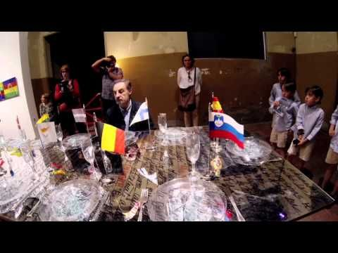 "Performance ""Viaje a ninguna parte"", Concha Jerez y José Iges. Tabacalera"