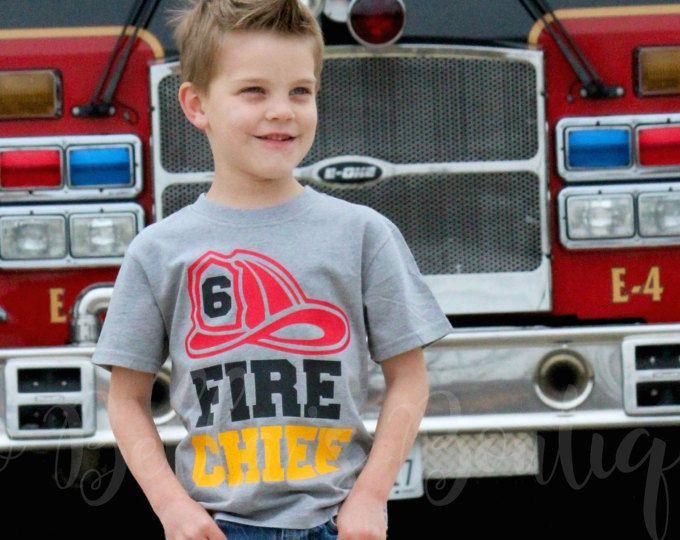 Camiseta de cumpleaños de bombero - bombero camisa de cumpleaños - cumpleaños de carro de fuego - traje de cumpleaños de carro de fuego - grupo de bombero - bombero