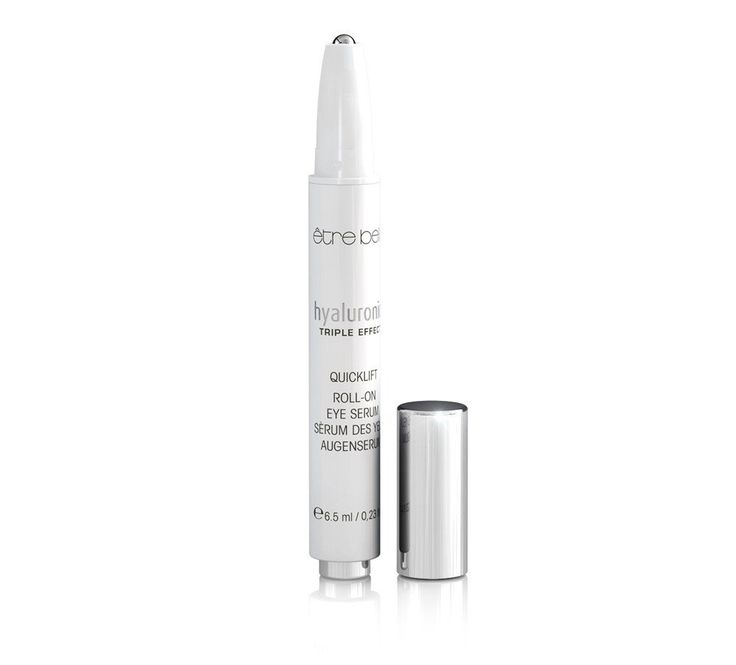 Hyaluronic Roll-On Eye Serum The main active ingredient  Eyeseryl™  is specifically targeting dark circles with reducing the puffiness under the eyes. The roll-on applicator has a massage-like effect, which significantly increases the effectiveness of this cooling and smoothing eye serum. Good for travelling ***