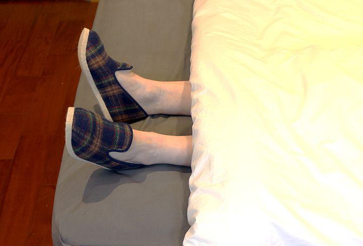 Charentaises Traditionnelles Bleues - Pantoufles charentaise