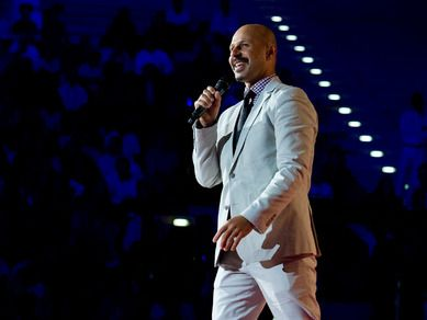 "Iranian-American comedian Maz Jobrani takes to the TEDxSummit stage in Doha, Qatar to take on serious issues in the Middle East -- like how many kisses to give when saying ""Hi,"" and what not to say on an American airplane. - Amanda"
