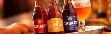 Chimay great belgian beer.