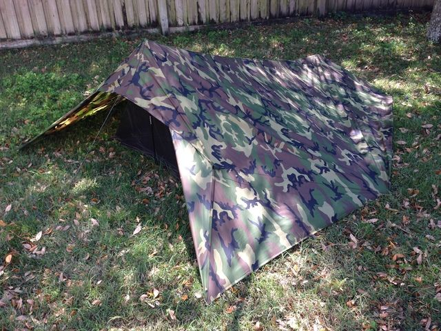 Camouflaging Bug Out Shelter : Activate stealth mode tarp shelter and bug net the o
