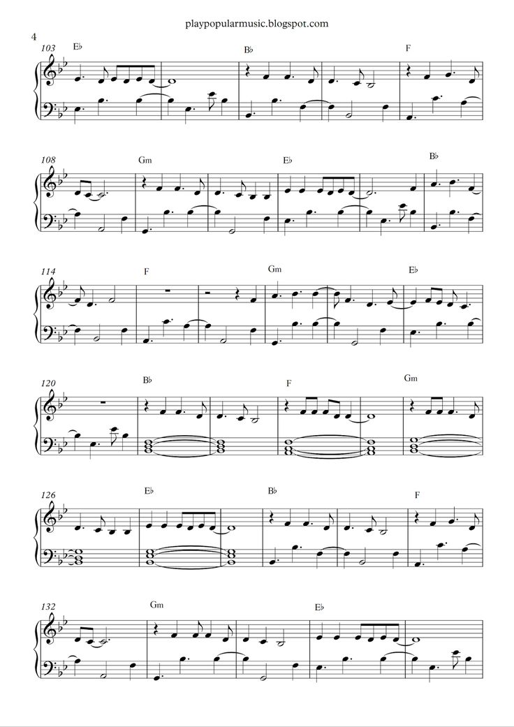9 best Piano Sheets images on Pinterest | Free piano sheets, Music ...