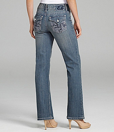 Womens Jeans With Rhinestones On Pockets