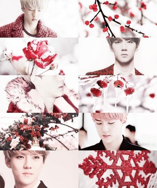 If Exo Were Months - Sehun as December viitakissme.tumblr.com