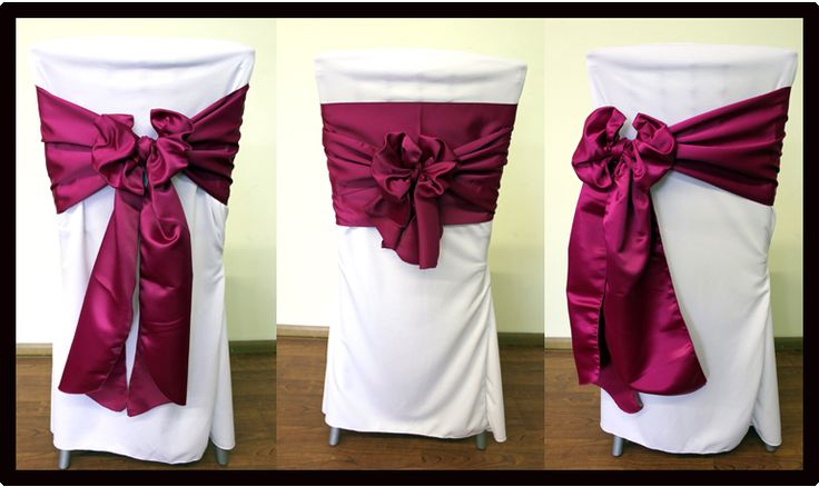 19 best Event - Chair Decor images on Pinterest | Wedding ...