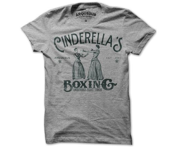 Cinderella's Boxing T-Shirt https://www.fanprint.com/stores/teeshirtstudio-fut?ref=5750