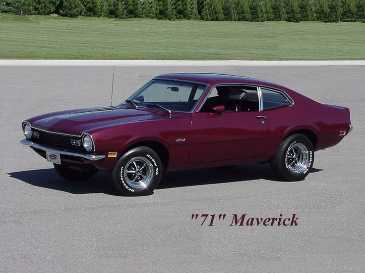 1971 Ford Maverick, My first car! Mine was white!!