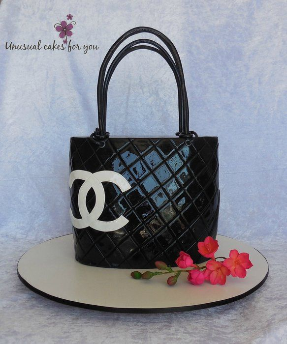 Chanel hand bag - by Unusual cakes for you @ CakesDecor.com - cake decorating website