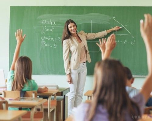 Minimum the salaries of teachers will grow to 9600 hryvnias