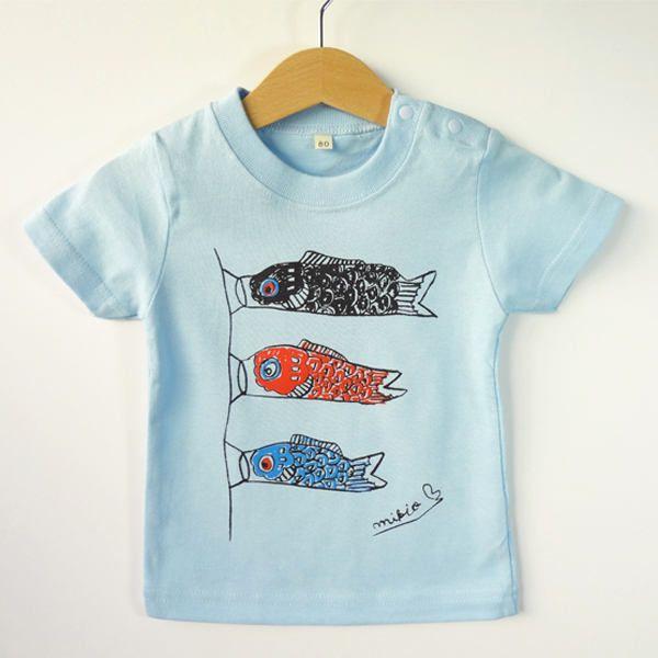 Koinobori Baby S T Shirt Koi Koinobori Japanese Baby Clothes
