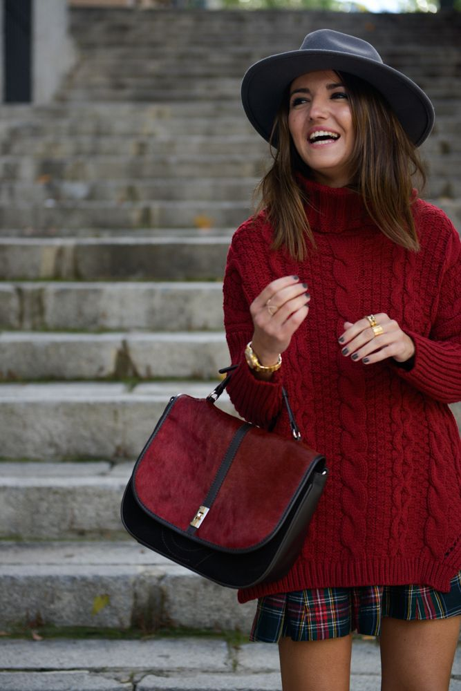 Burgundy autumn - Lovely Pepa by Alexandra Inspiración borgoña-escoces
